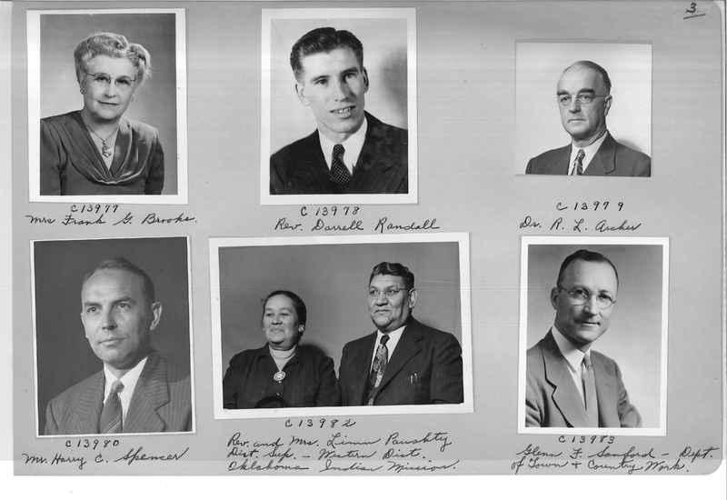 Mission Photograph Album - Portraits #07 Page 0003