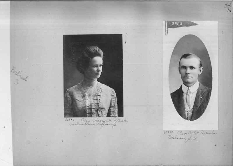 Mission Photograph Album - Portraits #3 page 0031