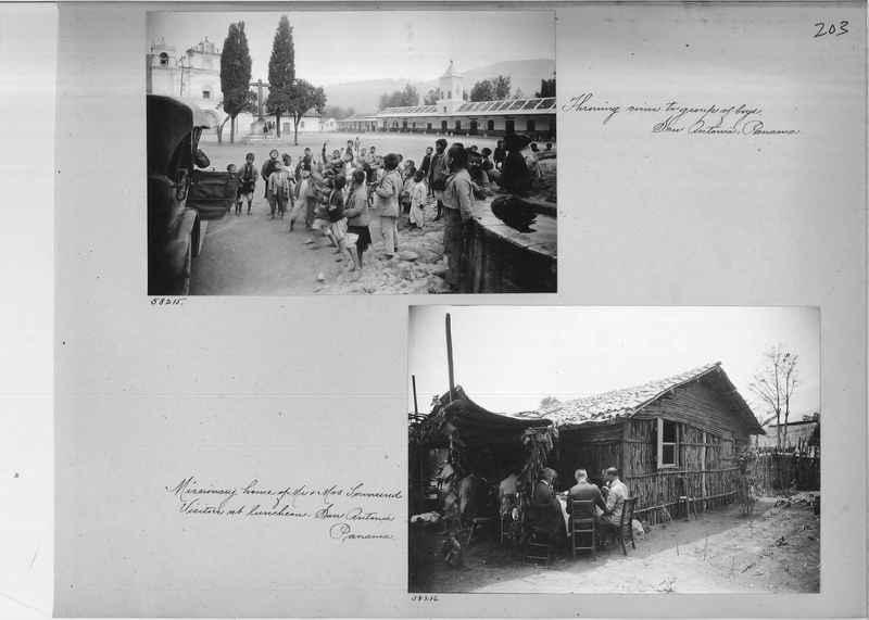 Mission Photograph Album - Panama #02 page 0203