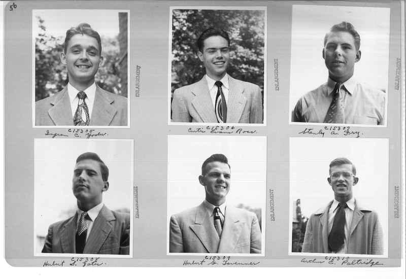 Mission Photograph Album - Portraits #07 Page 0056
