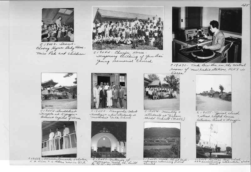 Mission Photograph Album - Korea #6 page 0125