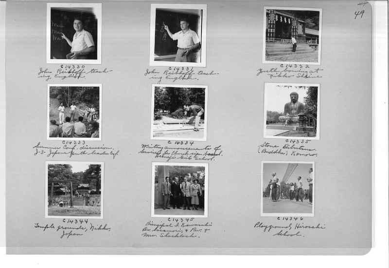 Mission Photograph Album - Japan #07 Page 0049
