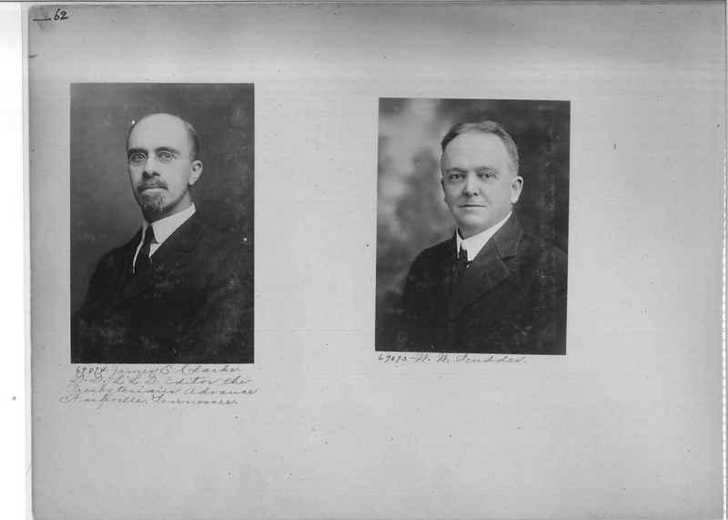 Mission Photograph Album - Portraits #3 page 0062