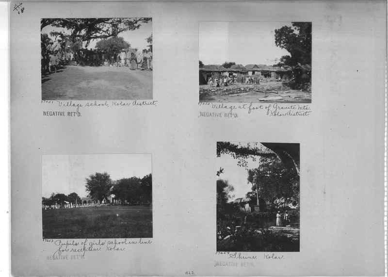 Mission Photograph Album - India #10 Page 0018