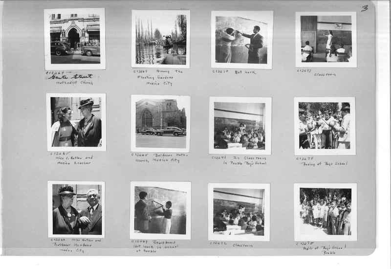 Mission Photograph Album - Mexico #09 Page 0003