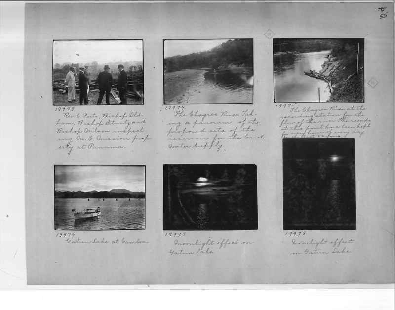 Mission Photograph Album - Panama #1 page  0055