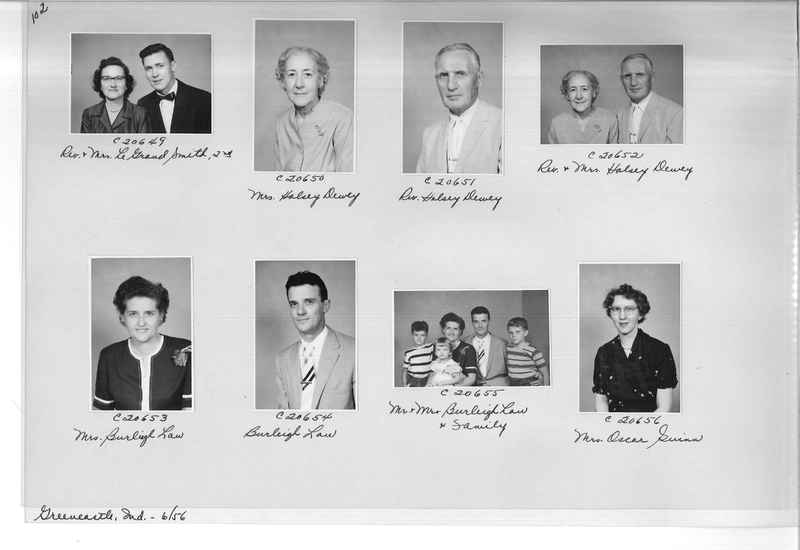 Mission Photograph Album - Portraits #09 Page 0102