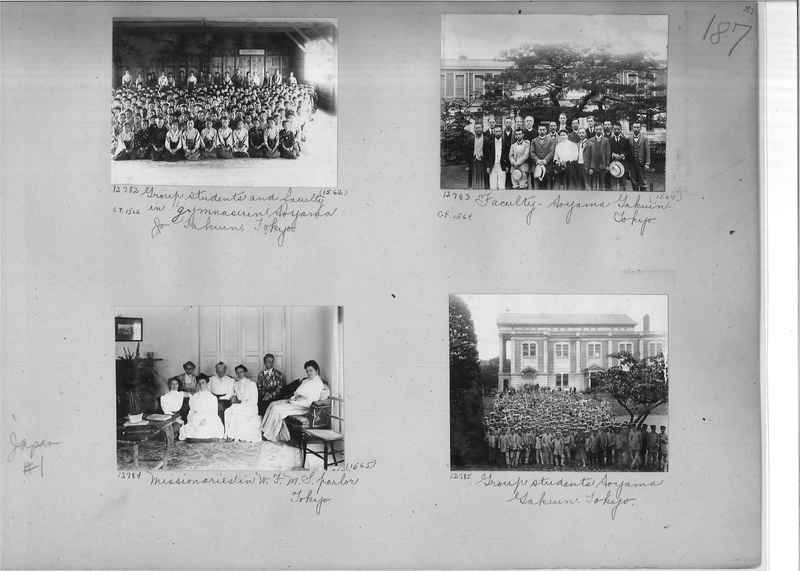 Mission Photograph Album -  Japan #01 Page 0187