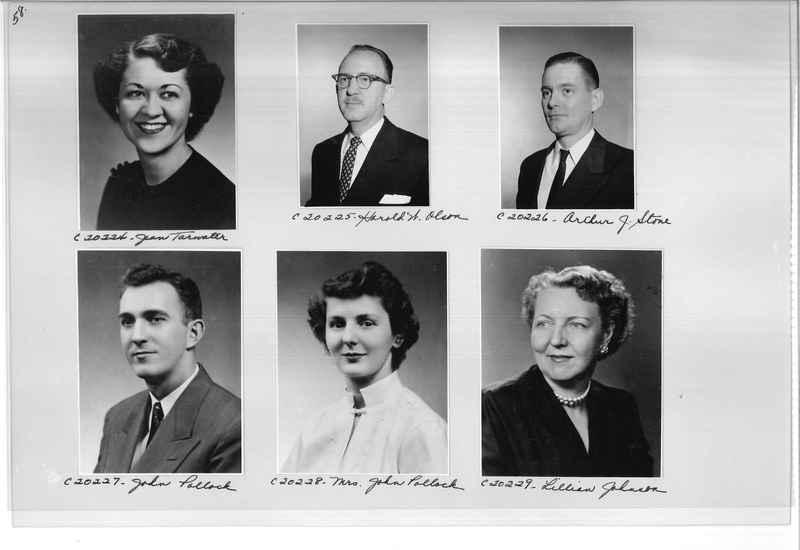 Mission Photograph Album - Portraits #09 Page 0058