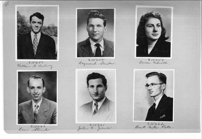 Mission Photograph Album - Portraits #07 Page 0048