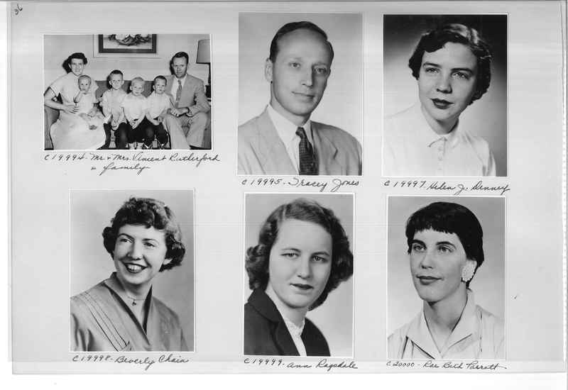 Mission Photograph Album - Portraits #09 Page 0036