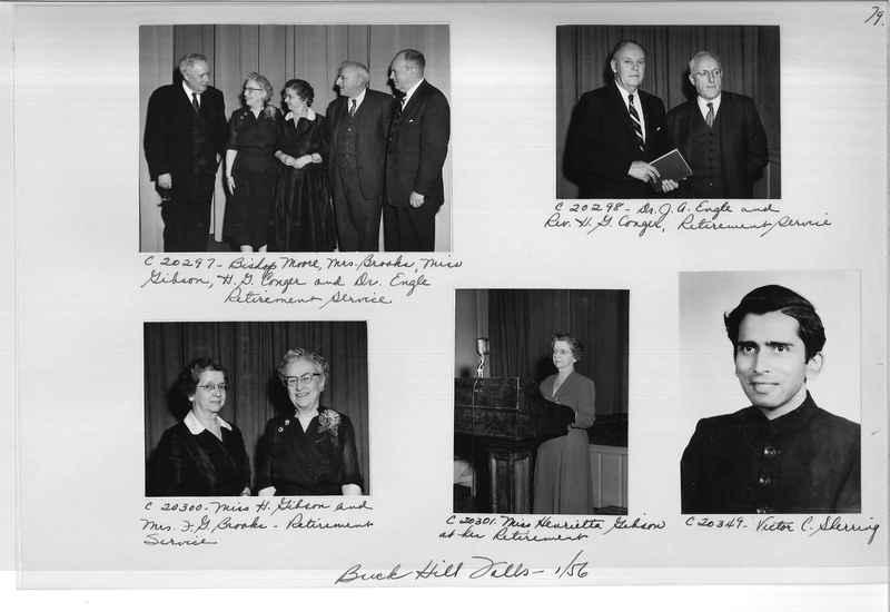 Mission Photograph Album - Portraits #09 Page 0079