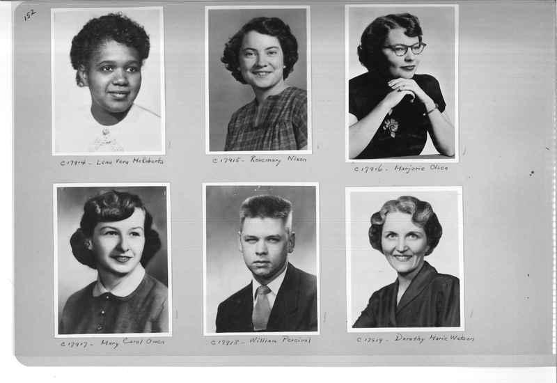 Mission Photograph Album - Portraits #07 Page 0152