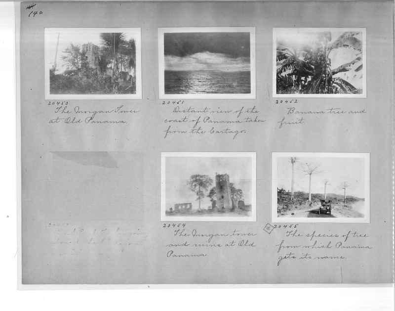 Mission Photograph Album - Panama #1 page  0140