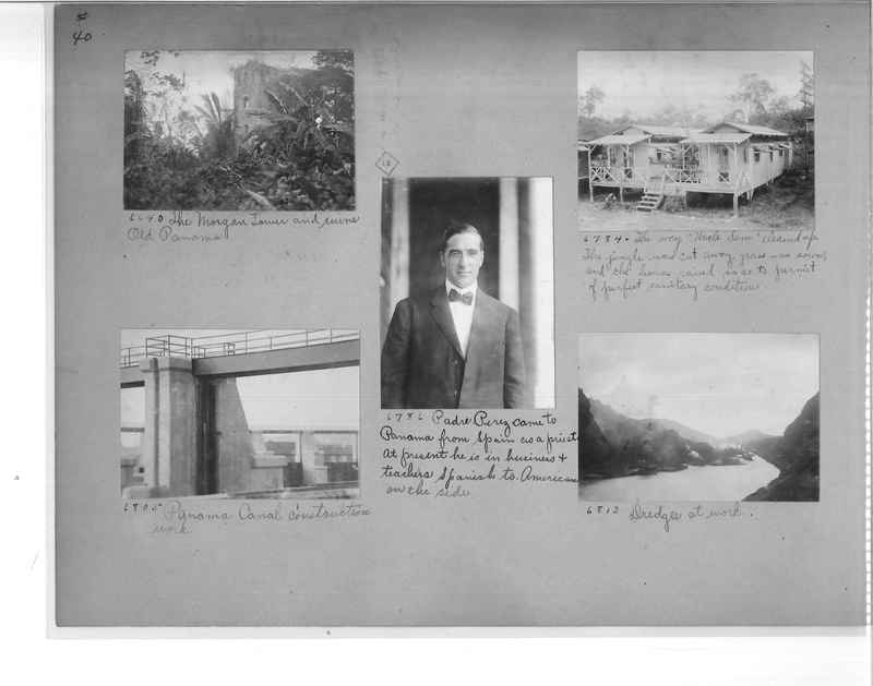 Mission Photograph Album - Panama #1 page  0040