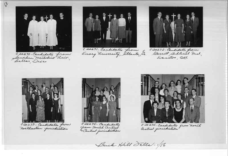 Mission Photograph Album - Portraits #09 Page 0068