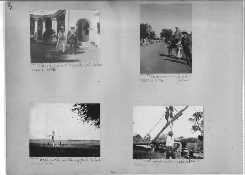 Mission Photograph Album - India #10 Page 0016