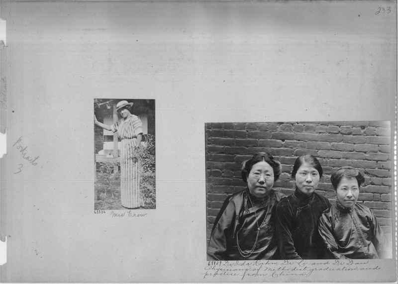 Mission Photograph Album - Portraits #3 page 0233