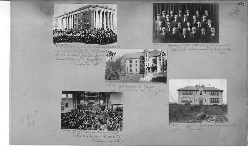 Mission Photograph Album - Education #1 page 0197