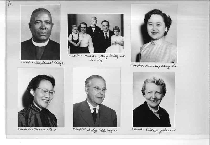 Mission Photograph Album - Portraits #09 Page 0084