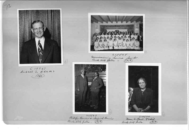 Mission Photograph Album - Portraits #07 Page 0072