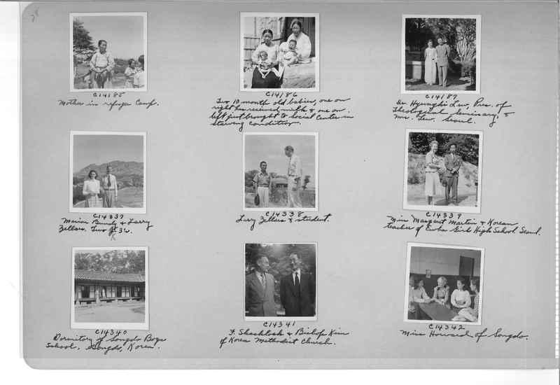 Mission Photograph Album - Korea #6 page 0028