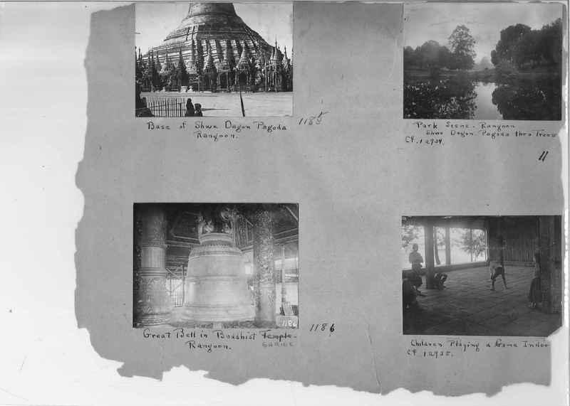 Mission Photograph Album - Burma #1 page 0011