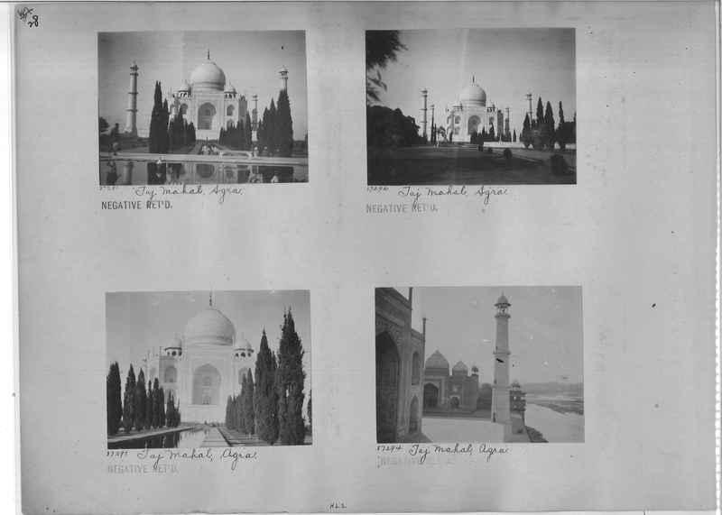 Mission Photograph Album - India #10 Page 0028