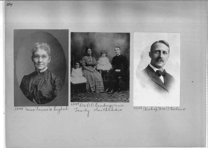 Mission Photograph Album - Portraits #1 page 0104