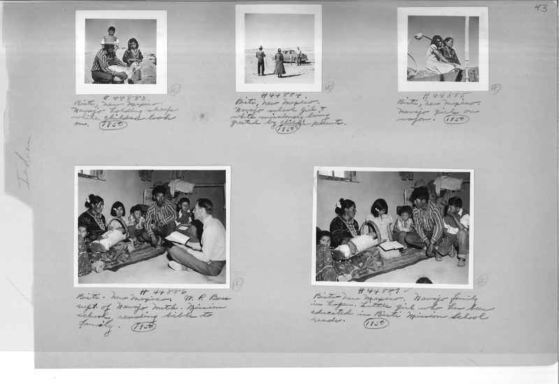 Mission Photograph Albums - Indians #3 Page_0043