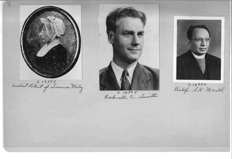 Mission Photograph Album - Portraits #07 Page 0008
