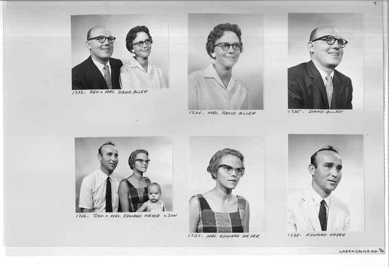 Mission Photograph Album - Portraits #12 Page 0007