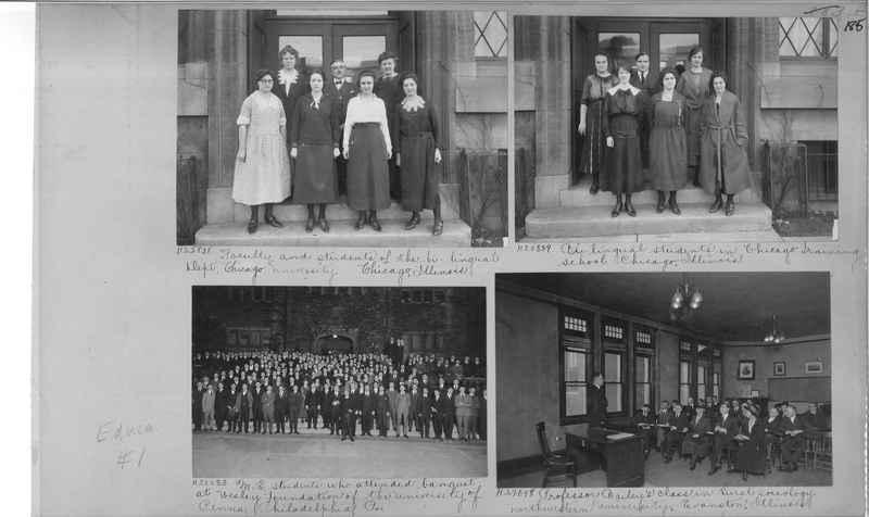 Mission Photograph Album - Education #1 page 0185