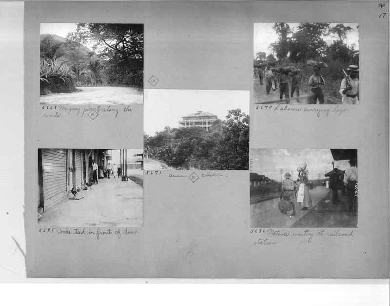 Mission Photograph Album - Panama #1 page  0017