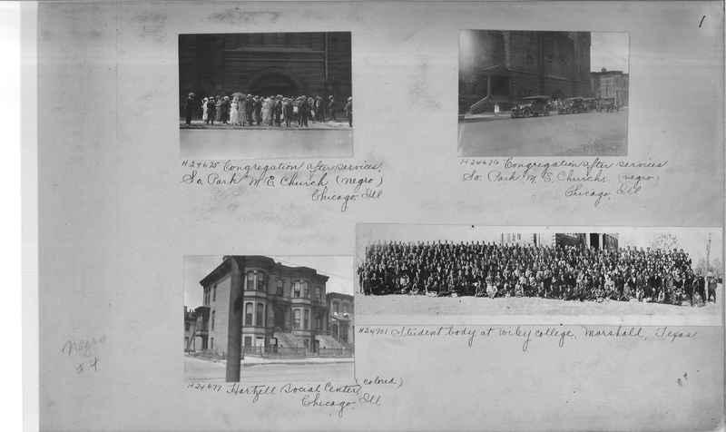 Mission Photograph Album - Negro #4 page 0001