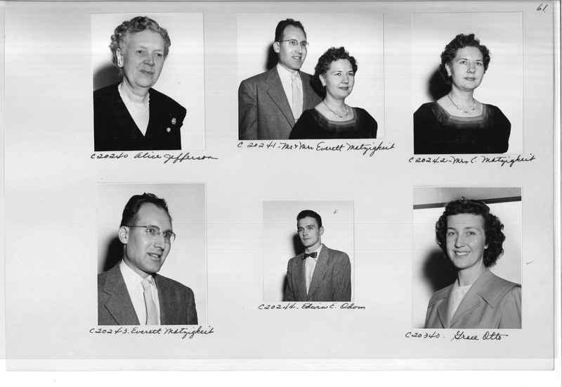 Mission Photograph Album - Portraits #09 Page 0061