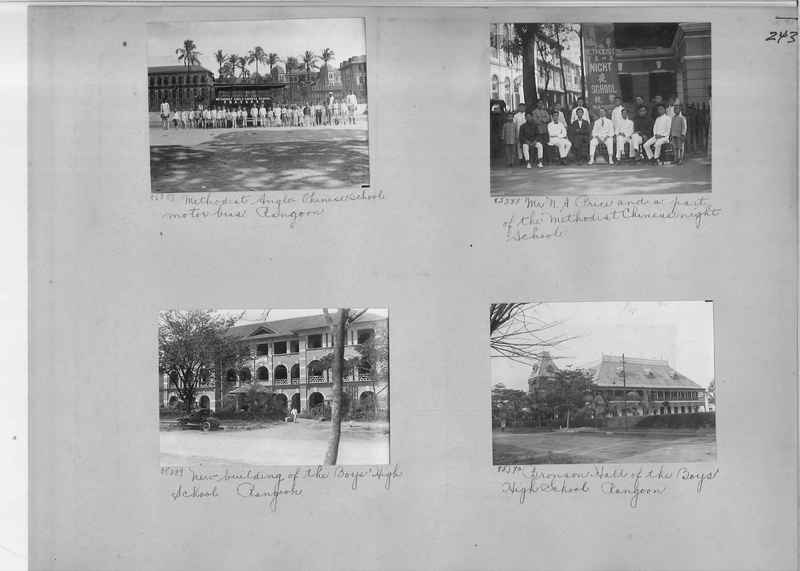 Mission Photograph Album - Burma #1 page 0243