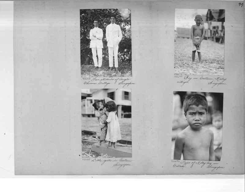 Mission Photograph Album - Malaysia #6 page 0097
