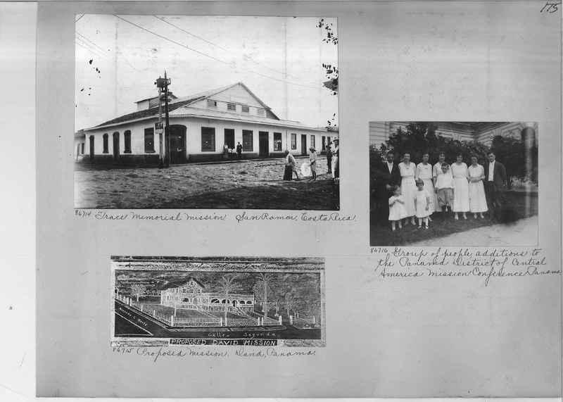 Mission Photograph Album - Panama #04 page 0175