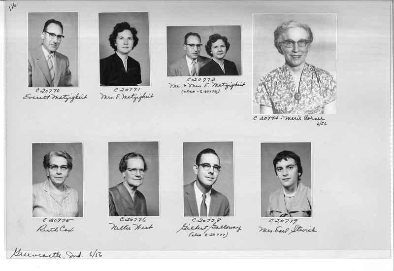 Mission Photograph Album - Portraits #09 Page 0116