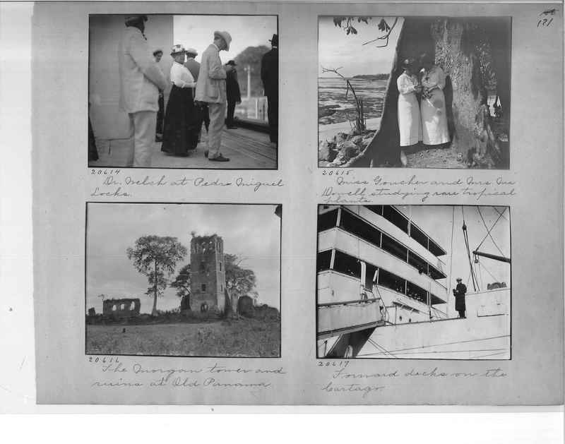Mission Photograph Album - Panama #1 page  0171