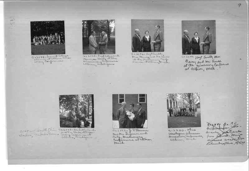 Mission Photograph Album - Portraits #13 Page 0009