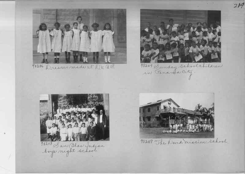 Mission Photograph Album - Panama #04 page 0219