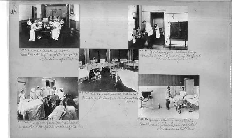 Mission Photograph Album - Hospitals and Homes #2 page 0244