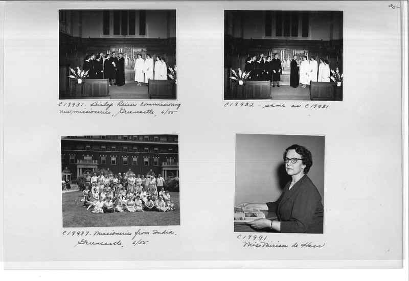 Mission Photograph Album - Portraits #09 Page 0035
