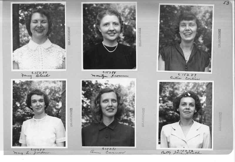 Mission Photograph Album - Portraits #07 Page 0053