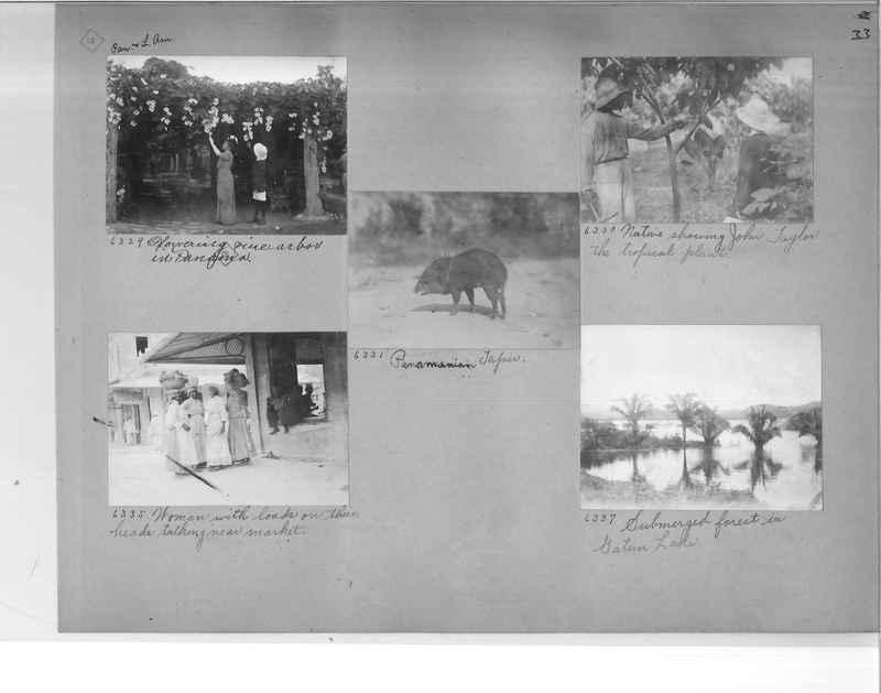Mission Photograph Album - Panama #1 page  0033