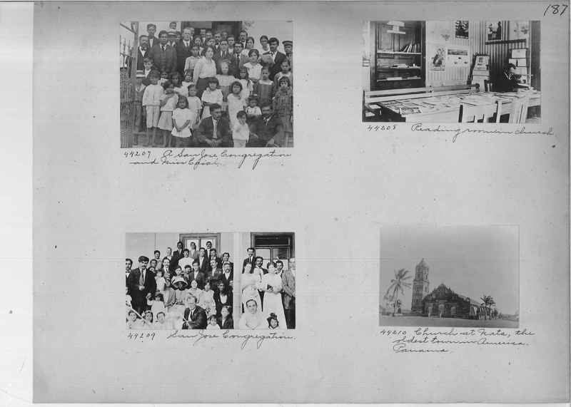 Mission Photograph Album - Panama #02 page 0187