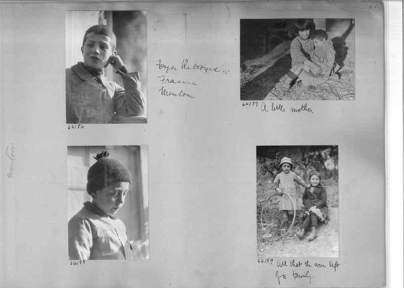 Mission Photograph Album - Europe #05 Page 0045