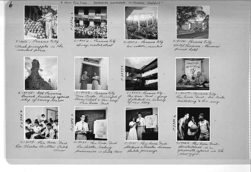 Mission Photograph Album - Panama #05 page 0006